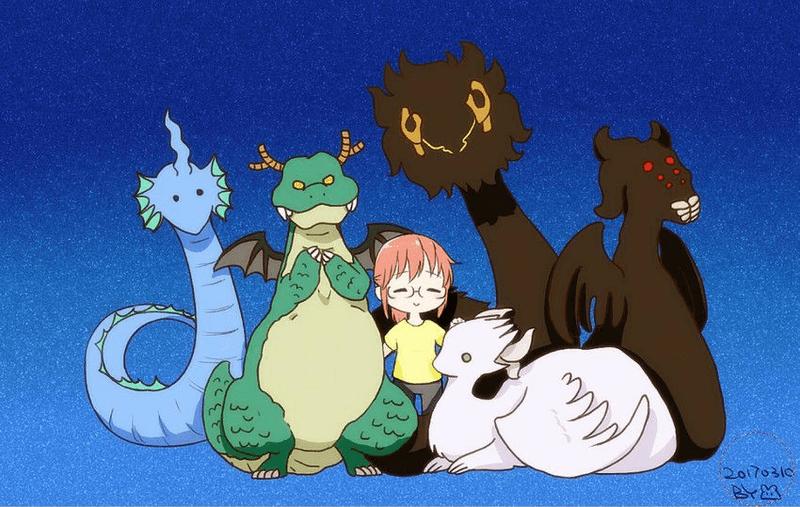 《小林家的龙女仆》の现世龙传说-C3动漫网