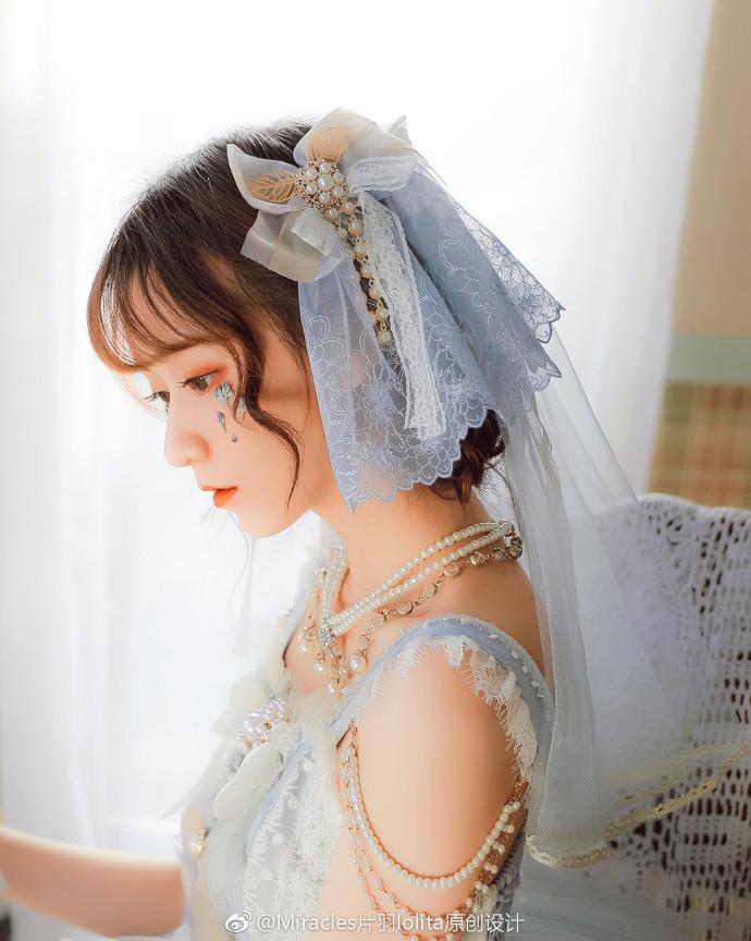 【lolita资讯】冰霜舞曲❤Miracles片羽lolita原创设计-C3动漫网