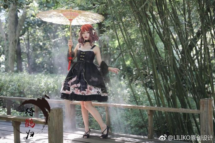 【Lolita资讯】待鹤归❤LILIKO原创设计-C3动漫网