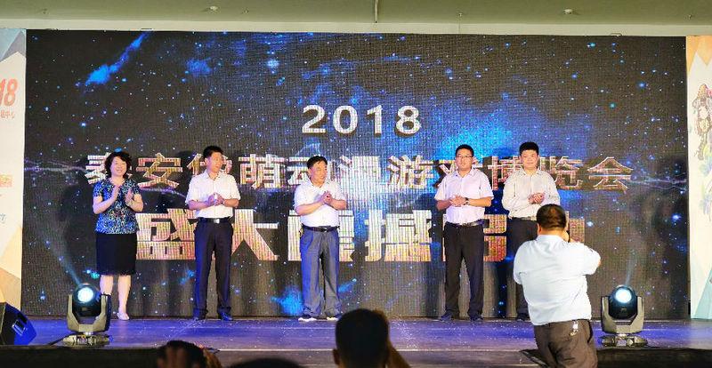 第二届泰安文化惠民消费季--岱萌动漫游戏博览会盛大开幕-C3动漫网