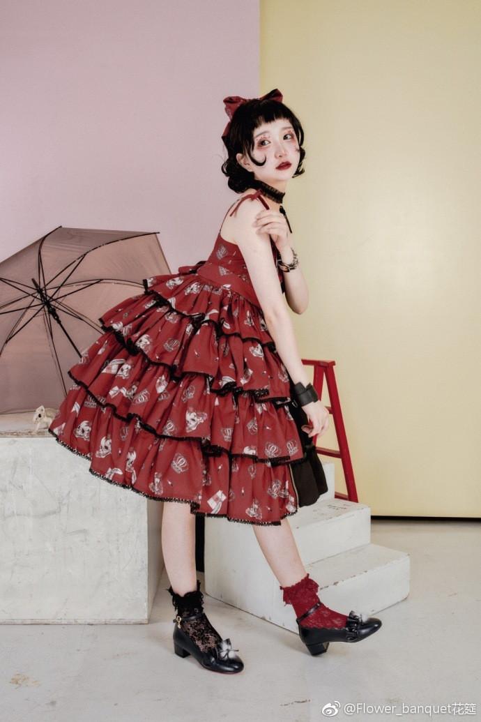 【Lolita资讯】花筵红黑❤Flower_banquet花筵-C3动漫网