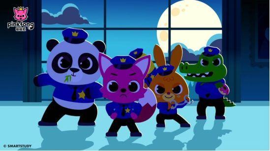 超人气卡通《碰碰狐PINKFONG》进军中国市场,开启儿童教育娱乐新模式!-C3动漫网