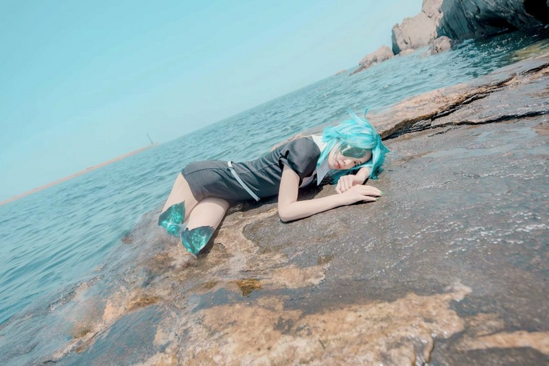 【Cosplay】宝石之国 C 法斯法菲莱特-C3动漫网