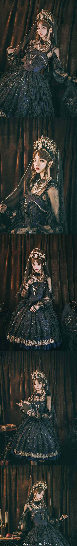 【Lolita资讯】塞壬之吻❤Miracles片羽lolita原创设计-C3动漫网