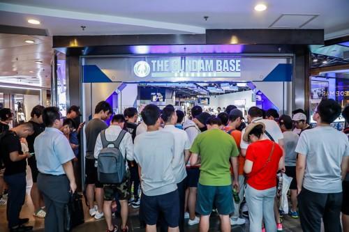 更劲爆消息,高达基地终于要在上海大幕开启!-C3动漫网