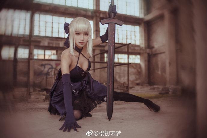 【cos正片】阿尔托莉雅alter#fgo##Fate/GrandOrder#-C3动漫网