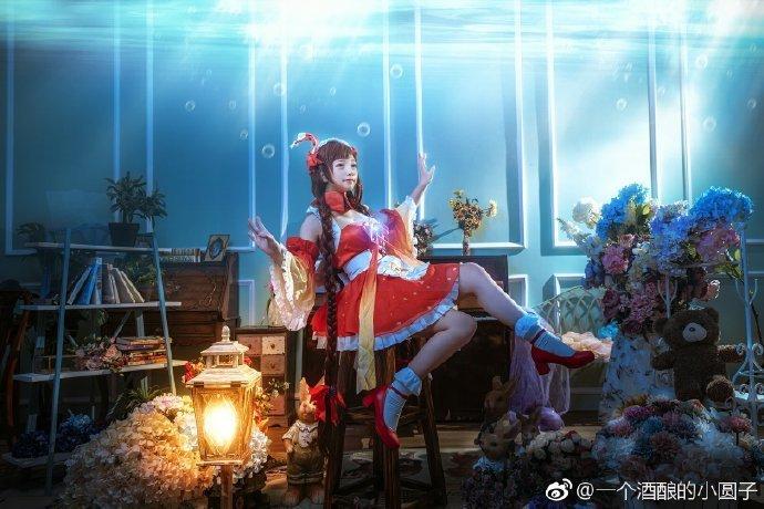 cosplay王者荣耀大乔小乔同人女仆-C3动漫网