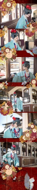 【COSPLAY】黑执事-夏尔 凡多姆海威-C3动漫网