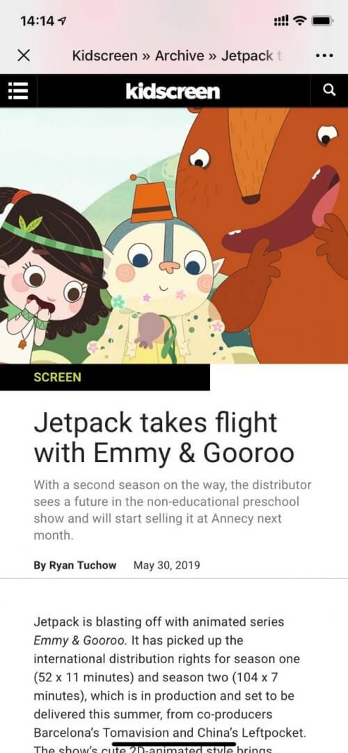《艾米咕噜》第二季今日在嘉佳卡通卫视开播!-C3动漫网