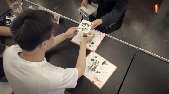 《拾又之国》欧洲签售获赞 第年秒获法国最大动漫站专访-C3动漫网