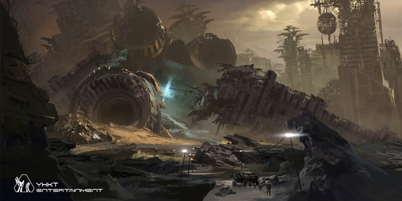 首部主打人类命运共同体的国产动画上线,《灵笼》的大格局与野心-C3动漫网