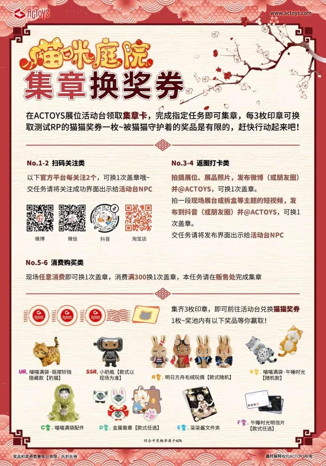 8.16~8.18北京国际潮流玩具展,ACTOYS展位限定品抢先看~-C3动漫网
