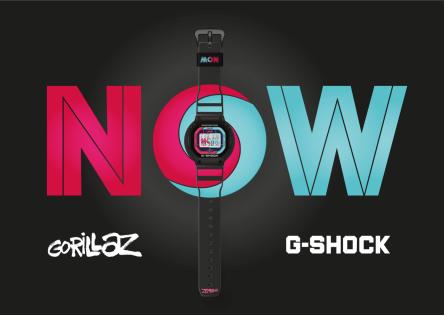 撞破次元壁,G-SHOCK x GORILLAZ最新合作款玩酷登场-C3动漫网