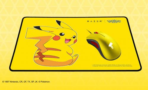 宝可梦官方授权 雷蛇发布皮卡丘限定款外设-C3动漫网