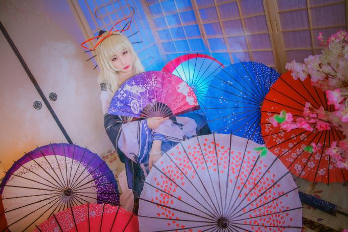 【cosplay】东方project 八云紫 和风纪闻录设-C3动漫网
