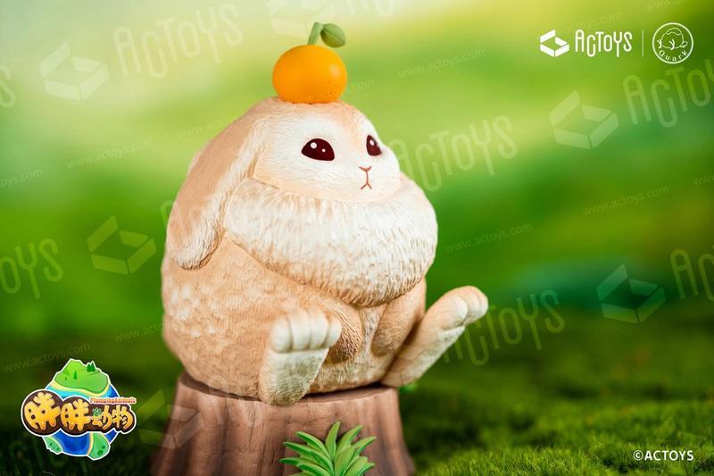 """ACTOYS原创设计作品——胖胖动物""""重量""""来袭!-C3动漫网"""