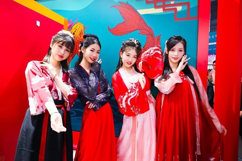 2020ChinaJoy首度亮相洛裳华服•赏  传统服饰文化潮下的游戏圈-C3动漫网