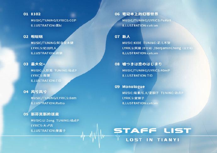 洛天依官方最新专辑《Lost in Tianyi》预售即将截止-C3动漫网