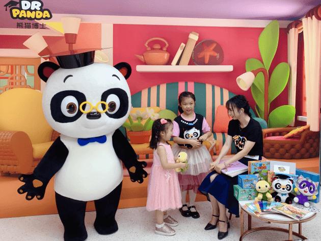 熊猫博士连线央视,共同开启欢乐暑期-C3动漫网
