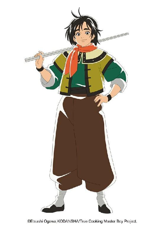 """动画《厨神小当家》第二季2021年播出 主视觉图公开 """"五虎星""""登场!-C3动漫网"""