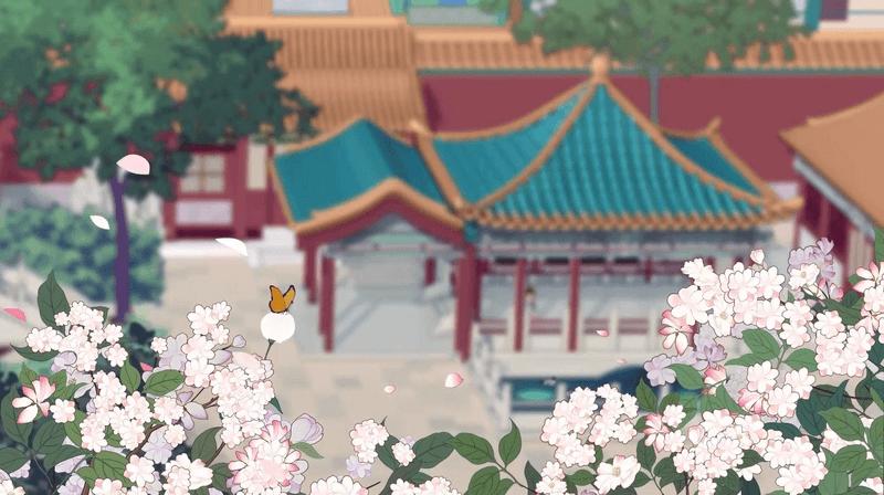 国风动画带你感受春意盎然,《梦幻花园》御花园春版本上线-C3动漫网