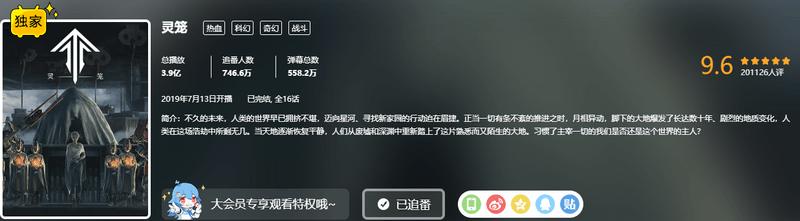 燃!国产动画《灵笼》播放量近4亿,白月魁吊打怪物男主!-C3动漫网