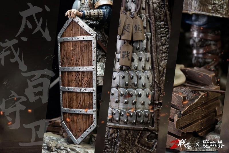 《战意》限量典藏雕像 戍戎百守卫&神策陌刀军正式预售-C3动漫网