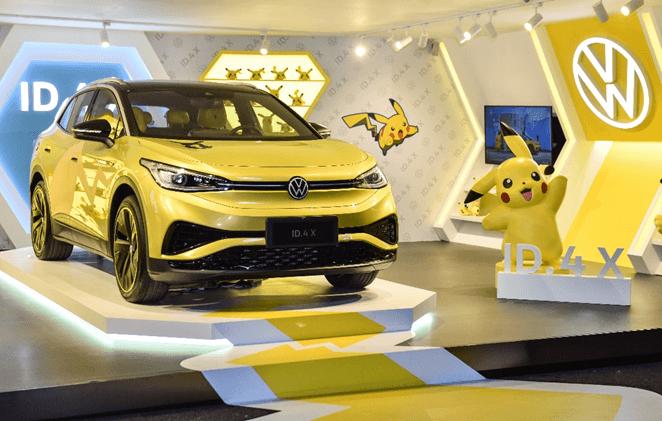 和年轻人玩在一起 上汽大众ID.4 X首次参展2021 ChinaJoy-C3动漫网